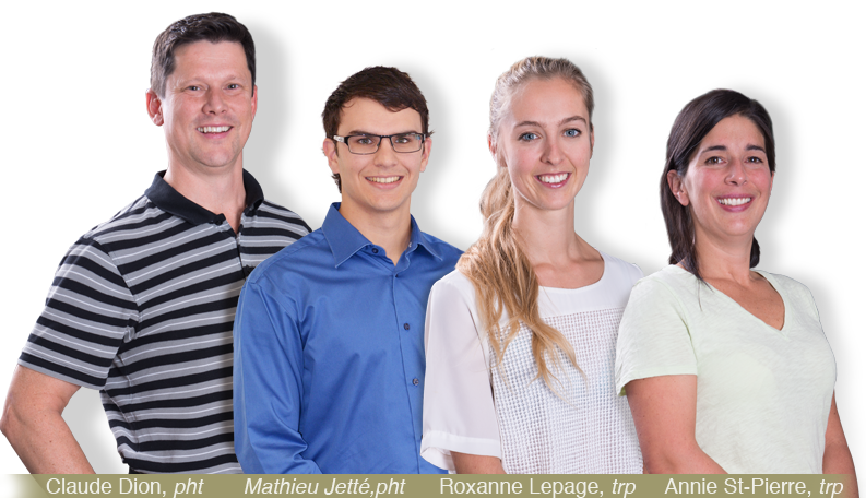 equipe Physiothérapeute sherbrooke
