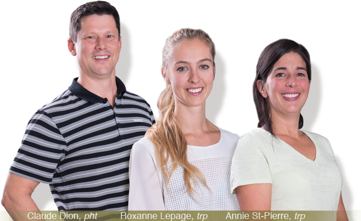 equipe Physiotherapeute sherbrooke